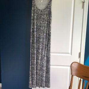 Floor length Old Navy Dress